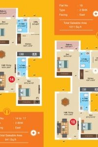 Aashritha - Apartment Floor Plan