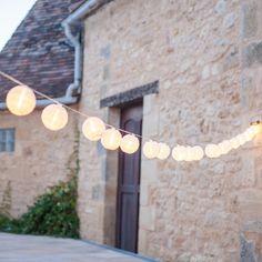 20er Lampion LED Lichterkette warmweiß Innen- und Außenbereich: Amazon.de: Küche & Haushalt