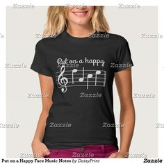 Put on a Happy Face Music Notes