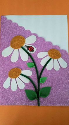 Capa caderno/agenda em EVA. Craft Activities For Kids, Preschool Crafts, Crafts For Kids, Felt Crafts, Diy And Crafts, Arts And Crafts, Orla Infantil, Notebook Cover Design, Ladybug Crafts