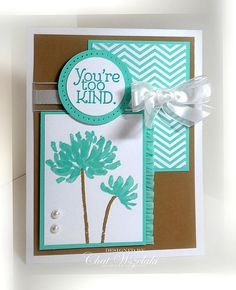 Stampin' Up Thank You Card