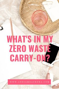 I pack my carry on to limit the amount of trash I create. You can embrace a zero waste lifestyle and build your own zero waste carry on. Travel Tags, Build Your Own, Zero Waste, Aurora, Carry On, Create, Routine, Lifestyle, Hacks