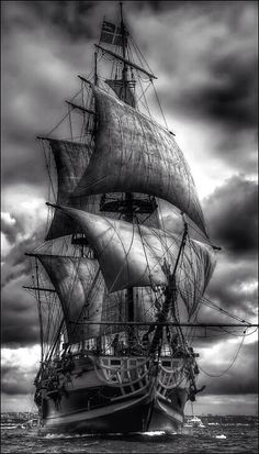 Give me a tall ship and a star to steer her by... or something like that... ;-)