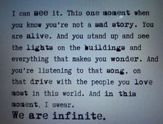 I swear, we were infinite. ♡