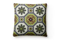 Edie Madrid 18x18 Outdoor Pillow, Multi on OneKingsLane.com