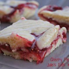 Cherry Pie Bars | Julie's Eats & Treats