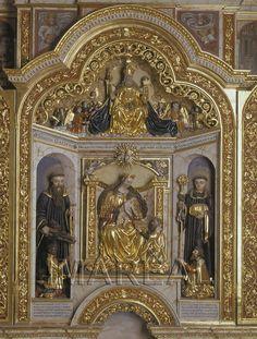 Hl. Gallus; Anbetung der Könige; Gottvater; Hl. Otmar 1572-1572; Rummeltshausen; Deutschland; Schwaben; Kapelle St. Sebastian  http://tarvos.imareal.oeaw.ac.at/server/images/7017588.JPG