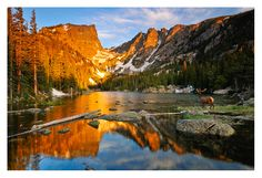 Rocky Mountain National Park in Autumn - was so beautiful when I was there is 2008. I want to go back again