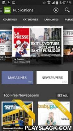 PressReader  Android App - playslack.com ,  Connecting you with the stories you love, from thousands of sources you trust. All you can read news to keep informed, entertained and inspired every day. Share your passions and connect with like-minded readers to discover new content. Make your voice heard on issues that matter to you, and follow and support opinions expressed by others.- - More news, more possibilities - -Get an unlimited stream of top news stories in your home feed - no sign up…
