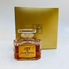 NOS NIB Sealed Vintage Joy Patou Pure Perfume Ref 1104 / 1/2 oz , Vintage Perfume, Joy Perfume Bottle, Vintage French Perfume