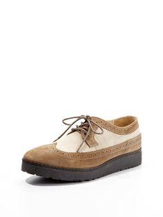 Hush Puppies Teddy Wingtip Shoes Zapatos De Gamuza 4a36cced5713a