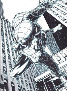 StuffNThings - bear1na:   Spider-Man by Joe Quesada *