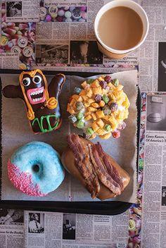 Dining Spotlight: Sugar Rush - Voodoo Doughnut brings Portland, Oregon's weirdness to Sixth Street.