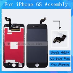 3PCS/LOT No Dead Pixel LCD For Apple iPhone 6S LCD Display With Good 3D Touch Screen Digitizer Assembly Free DHL Shipping