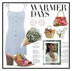 """""""🌺🌺"""" by obretin-raluca on Polyvore featuring Topshop, Patricia Nash, Sunday Somewhere and springdresses"""