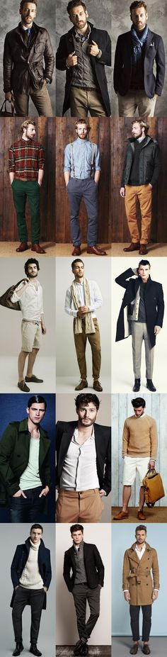 Great looks...men should have style. It's imperative.  Khakis and Polo are the worst combo on earth.