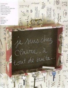 """From the book : """"Ma recup' déco, 100 idées pour détourner, transformer, recycler meubles et objets"""""""