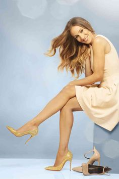 Sarah Jessica Parker's Collection shoes and Fred Leighton jewelry