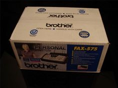 Brother FAX 575 Plain Paper Fax Phone & Copier FAX-575 Sealed Brand New #Brother