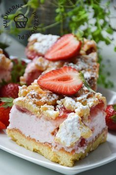 Cake Recipes, Dessert Recipes, Rhubarb Recipes, Instant Pot Dinner Recipes, Happy Foods, Food Cakes, Food Inspiration, French Toast, Cheesecake