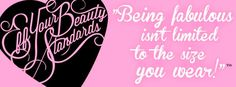 My Plus Size Life: .Eff Your Beauty Standards merchandise is here!