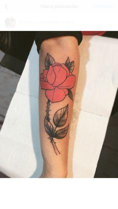 #tattoo #tatuajes #tattoogirl #girl #tattoorose #roses #tattoorosa #tattoobrazo Tattoo Brazo, Roses, Tattoos, S Tattoo, Tatuajes, Pink, Tattoo, Japanese Tattoos, Rose