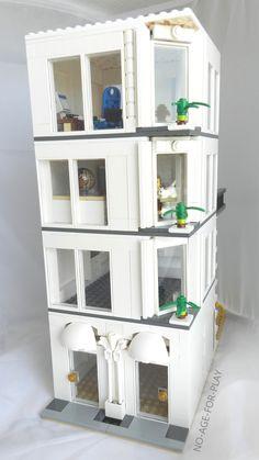 MOC Lego Noageforplay a 4 floors building
