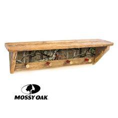 Mossy Oak Camo Collection Shot Shell Coat Rack