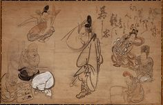 Hakuin Ekaku (1686-1769), Seven Gods of Good Fortune