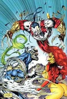 Warblade, Ripclaw & Misery Killer Instinct pinup WildStorm