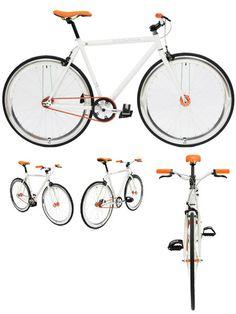 CREATE Fixed bike not so white...