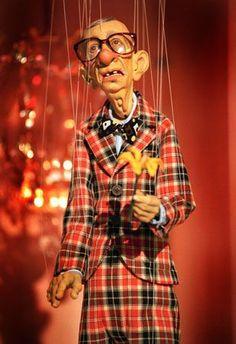 Ronnie Burkett and his Daisy Theatre marionettes.