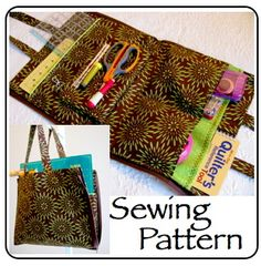 Quilters Tool Tote.  Free pattern  ~Kelly