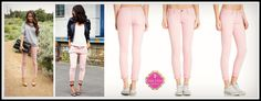 Hampton Jeans in Pink