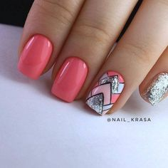 Nail Shapes - My Cool Nail Designs Acrylic Nail Designs, Nail Art Designs, Acrylic Nails, Nails Design, Gel Nagel Design, Nagellack Trends, Latest Nail Art, Nagel Gel, Nail Decorations