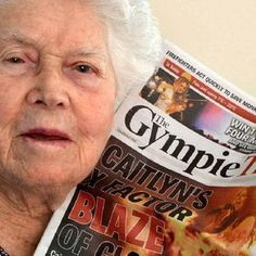 GYMPIE X Factor contestant Caitlyn Shadbolt's 97-year-old great-grandmother would not miss the show for the world.