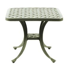Basketweave End Table   Outdoor, Patio Furniture Toronto, Waterloo, Ottawa    Hauser Stores