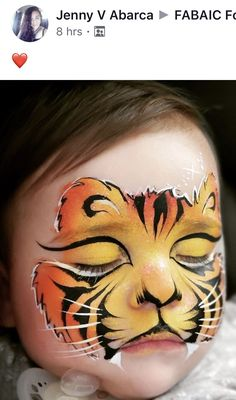 Suggestions To Keeping Protected From The Sunlight Through Summer Season And Spring - Makeup Ideas Animal Face Paintings, Animal Faces, Adult Face Painting, Painting For Kids, Halloween Makeup, Halloween Face, Tiger Face Paints, Animal Makeup, Kids Makeup
