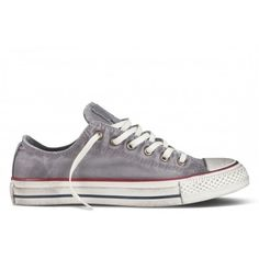 890b03830954 Match these All Star Grey Converse with a pair of rolled up chinos for a  smart casual look.