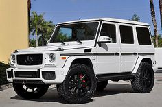 "2016 Mercedes-Benz G-Class G65 AMG Designo Lifted! ADV.1! White/White 2016 Mercedes-Benz G65 AMG Designo Lifted! ADV.1! 35"" Tires…"