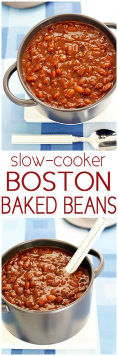 Crock-Pot Boston Baked Beans
