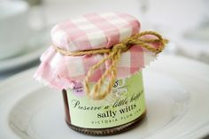 Wedding favor ideas from a beautiful Marquee wedding in Sussex. By www.ashdownweddingphotography.co.uk