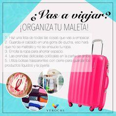 ¡Organiza tu maleta!