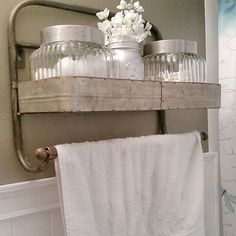 Thanks to Kristina for sharing how lovely our towel rack looks in her bathroom!