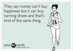 #running = happiness