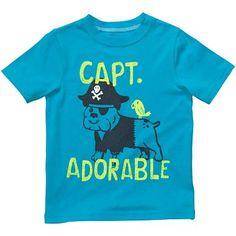 Carter's® Captain Slogan Tee - Boys 2t-5t - jcpenney