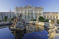 Palácio Nacional de Queluz, Sintra, Portugal.