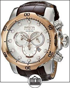 Invicta 359 - Reloj cronógrafo de caballero de cuarzo de  ✿ Relojes para hombre - (Gama media/alta) ✿