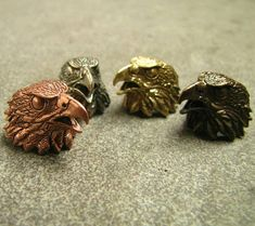 Check out this item in my Etsy shop https://www.etsy.com/listing/600606451/eagle-solid-brass-copper-bead-for