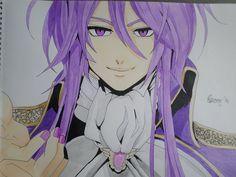 Kamui Gakupo - Madness of Duke Venomania/Lunacy of Duke Venomania (Evillious Chronicles) (another re-draw!)